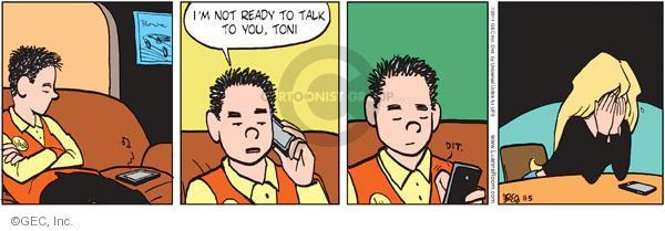 Comic Strip Greg Evans  Luann 2011-11-05 Toni