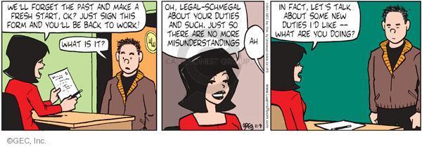 Cartoonist Greg Evans  Luann 2011-11-09 behavior