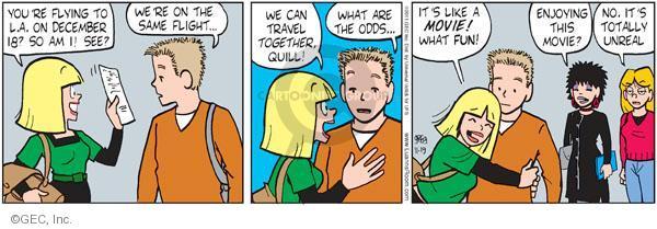 Comic Strip Greg Evans  Luann 2011-11-19 December