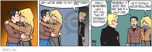 Comic Strip Greg Evans  Luann 2011-12-02 affection