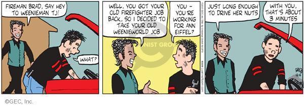 Comic Strip Greg Evans  Luann 2011-12-06 employment