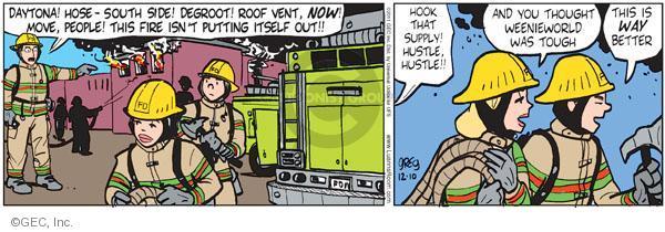 Comic Strip Greg Evans  Luann 2011-12-10 hustle