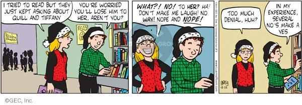 Comic Strip Greg Evans  Luann 2011-12-22 lose