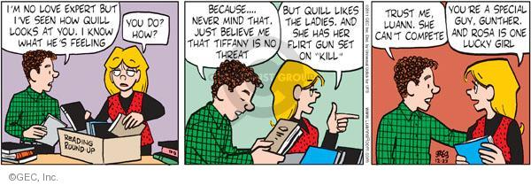 Comic Strip Greg Evans  Luann 2011-12-23 gun