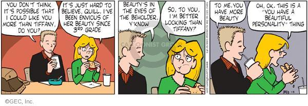 Comic Strip Greg Evans  Luann 2012-01-05 personality