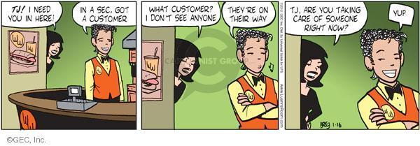 Comic Strip Greg Evans  Luann 2012-01-16 vengeance