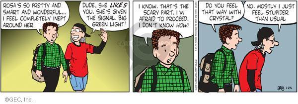 Comic Strip Greg Evans  Luann 2012-01-25 wonderful