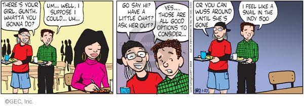 Comic Strip Greg Evans  Luann 2012-01-27 500