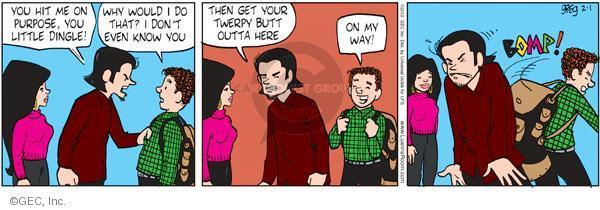 Comic Strip Greg Evans  Luann 2012-02-01 dingle