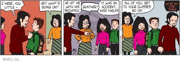 Comic Strip Greg Evans  Luann 2012-02-02 teacher