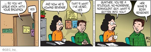 Comic Strip Greg Evans  Luann 2012-02-06 teen