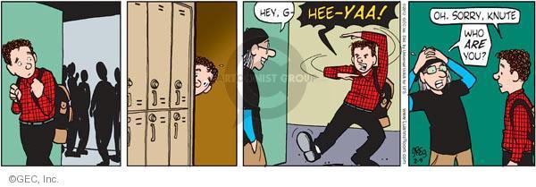 Comic Strip Greg Evans  Luann 2012-02-09 hee