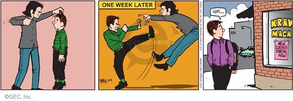 Comic Strip Greg Evans  Luann 2012-02-13 defense