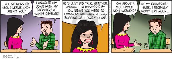 Comic Strip Greg Evans  Luann 2012-02-20 nice