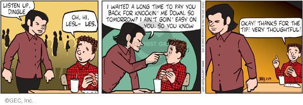 Comic Strip Greg Evans  Luann 2012-02-29 teen
