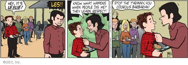 Comic Strip Greg Evans  Luann 2012-03-01 teen