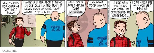 Comic Strip Greg Evans  Luann 2012-03-05 size