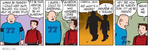 Comic Strip Greg Evans  Luann 2012-03-07 careful