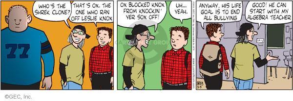 Comic Strip Greg Evans  Luann 2012-03-09 math student