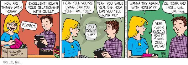 Comic Strip Greg Evans  Luann 2012-03-12 Rosa