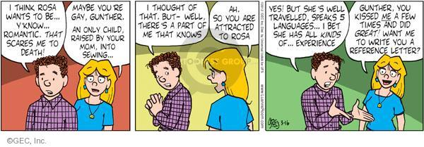 Comic Strip Greg Evans  Luann 2012-03-16 romance