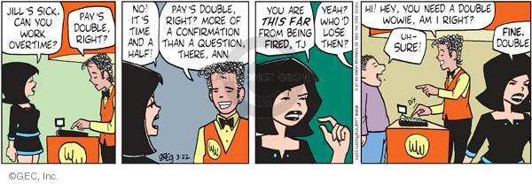 Comic Strip Greg Evans  Luann 2012-03-22 lose