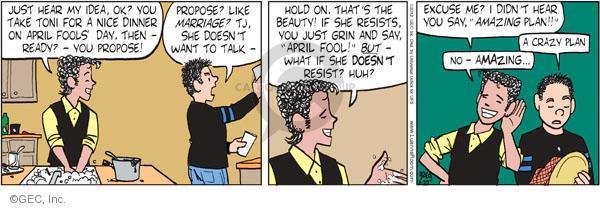 Comic Strip Greg Evans  Luann 2012-03-29 romance