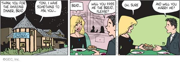 Comic Strip Greg Evans  Luann 2012-03-31 Brad