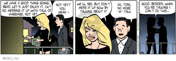 Comic Strip Greg Evans  Luann 2012-04-05 Brad