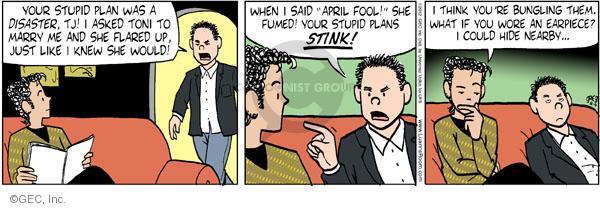 Comic Strip Greg Evans  Luann 2012-04-06 joke