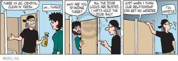 Cartoonist Greg Evans  Luann 2012-04-11 date
