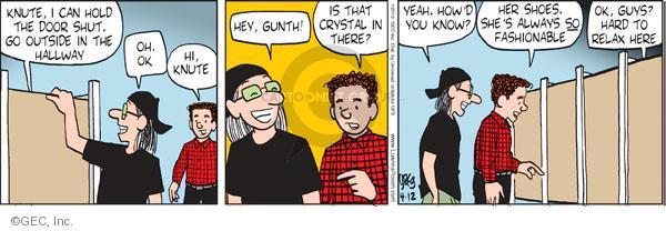 Comic Strip Greg Evans  Luann 2012-04-12 hold
