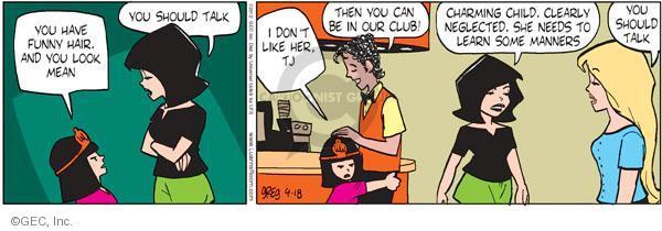 Comic Strip Greg Evans  Luann 2012-04-18 dislike