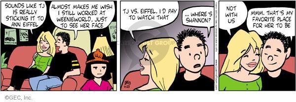 Cartoonist Greg Evans  Luann 2012-04-23 date