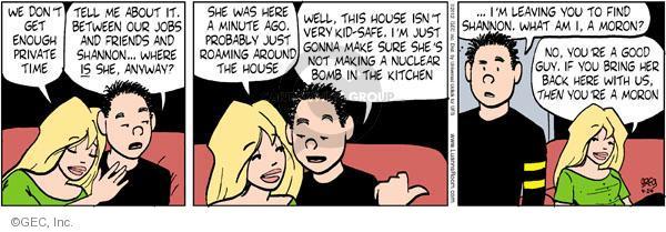 Comic Strip Greg Evans  Luann 2012-04-24 good guy