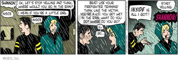 Comic Strip Greg Evans  Luann 2012-04-27 Brad