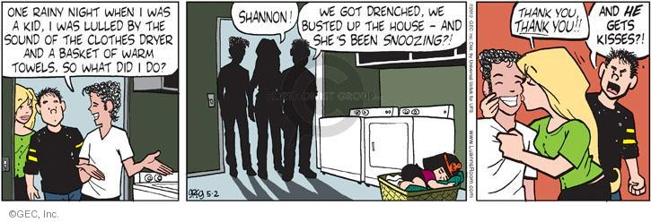 Comic Strip Greg Evans  Luann 2012-05-02 child sleep