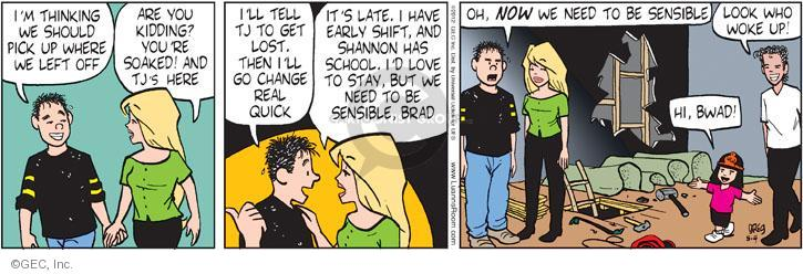 Comic Strip Greg Evans  Luann 2012-05-04 Brad