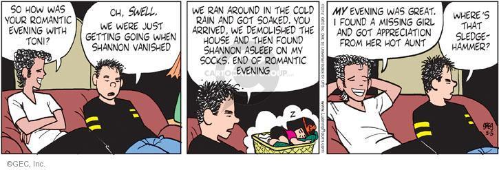 Comic Strip Greg Evans  Luann 2012-05-05 cold