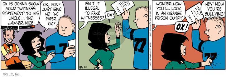 Comic Strip Greg Evans  Luann 2012-05-23 prison