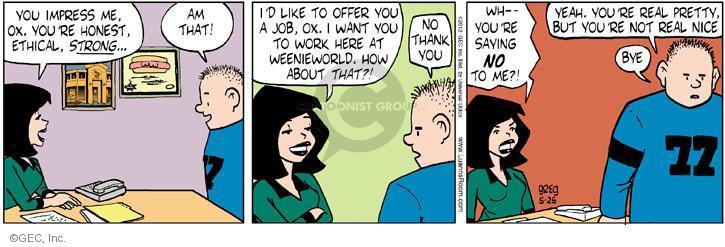 Comic Strip Greg Evans  Luann 2012-05-26 nice