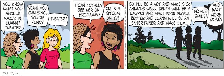 Comic Strip Greg Evans  Luann 2012-06-06 theater