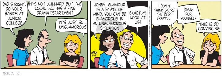 Comic Strip Greg Evans  Luann 2012-06-15 junior college
