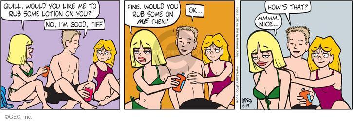 Comic Strip Greg Evans  Luann 2012-06-19 nice