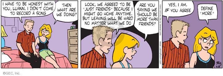 Comic Strip Greg Evans  Luann 2012-06-28 friendship