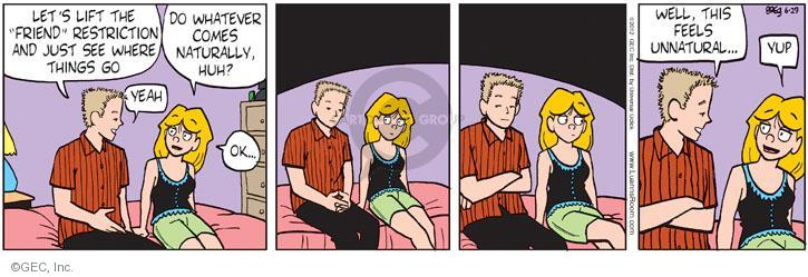 Comic Strip Greg Evans  Luann 2012-06-29 friendship