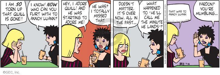 Comic Strip Greg Evans  Luann 2012-07-16 scheme