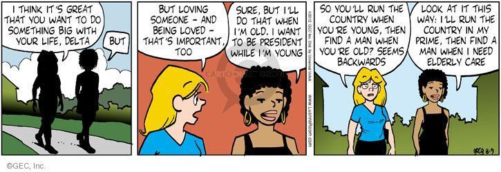 Comic Strip Greg Evans  Luann 2012-08-09 love