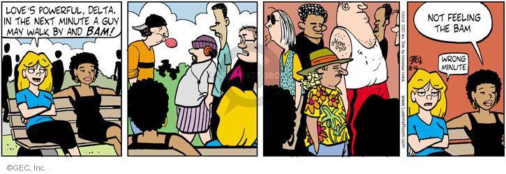 Comic Strip Greg Evans  Luann 2012-08-10 love