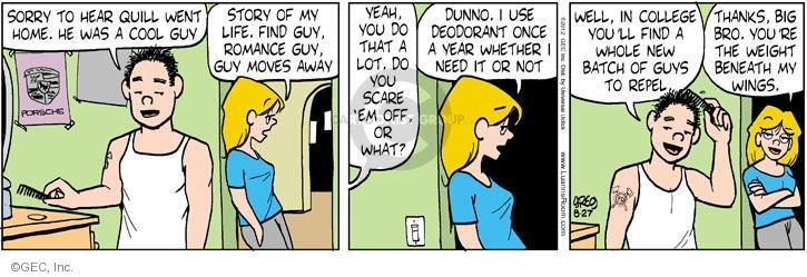 Comic Strip Greg Evans  Luann 2012-08-27 year